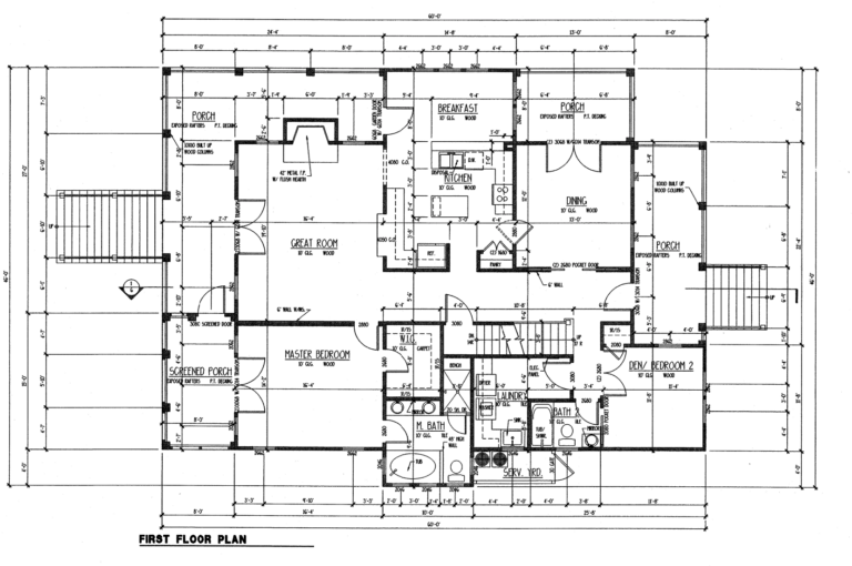st helena first floor plan