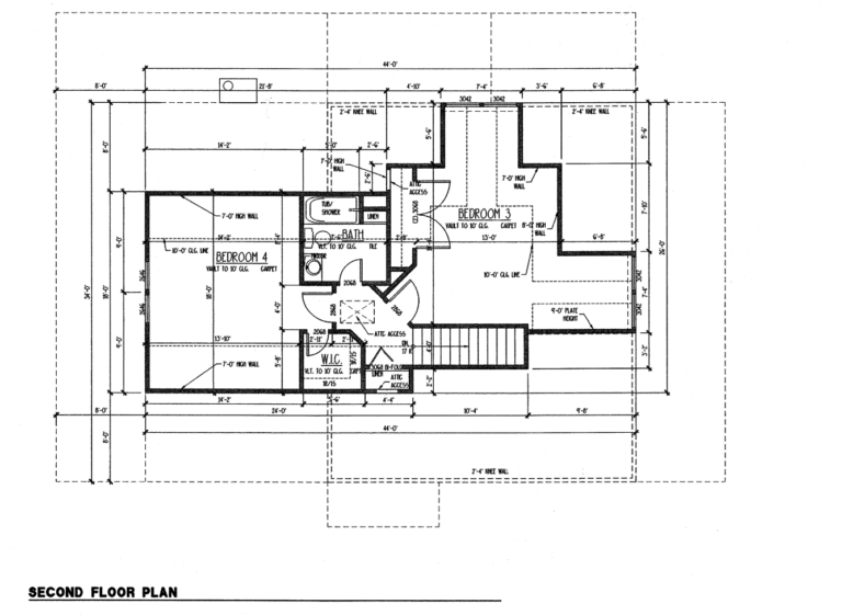 st helena second floor plan